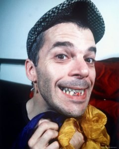 The late Ian Dury, British band leader, artist and cultural icon.